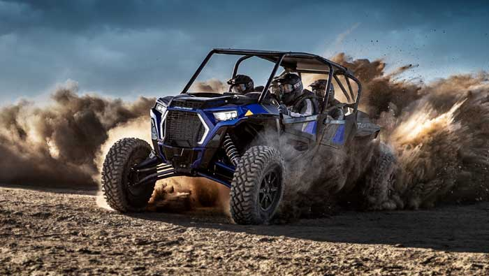 Rzr XP® 4 Turbo S - THE DRIVING FORCE IN OFF-ROAD