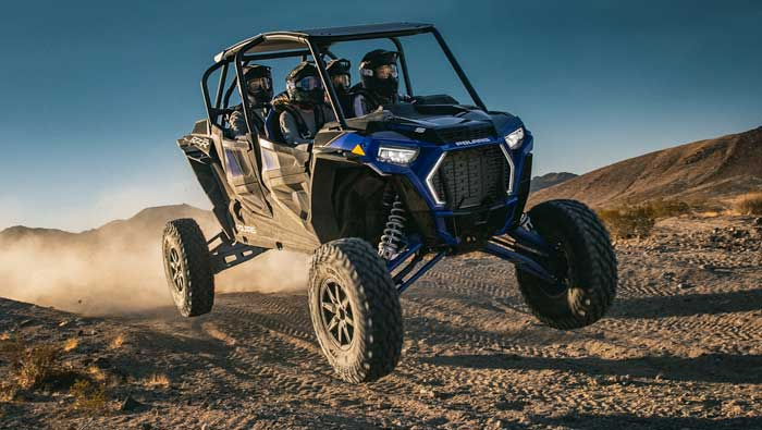 Rzr XP® 4 Turbo S - RUTHLESS RAMPAGE