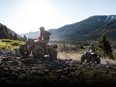 EXPLORE THE SPORTSMAN® 850 LINE-UP